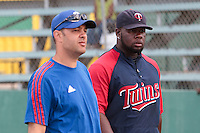 09 May 2010: Team France manager Sylvain Virey is seen next to Rene Leveret during a tryout for Team France, in St Maarten, Netherlands Antilles.