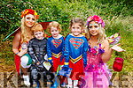 Elena, Lauren and Killian O'Connell (Lixnaw) meet Sparkling Simone and Bella the Tooth Fairy at the Enchanted Festival in Kilflynn on Sunday.