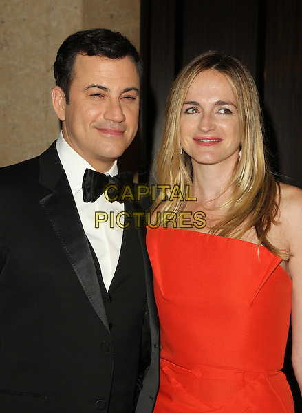 Beverly Hills, CA - October 21: Jimmy Kimmel, Molly McNearney Attending American Cinematheque 28th Annual Award Presentation To Matthew McConaughey 2014 At The Beverly Hilton Hotel  California on October 21, 2014.  <br /> CAP/MPI/RTNUPA<br /> &copy;RTNUPA/MediaPunch/Capital Pictures