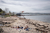 """Tschengene Skele (""""Zigeunerbucht""""), ein kleiner Ort an de bulgarischen Schwarzmeerküste, wurde im September 2014 überschwemmt, zwei Menschen starben und die Häuser standen unter Wasser."""