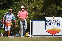 Scott Harrington (USA) heads down 2 during round 4 of the 2019 Houston Open, Golf Club of Houston, Houston, Texas, USA. 10/13/2019.<br /> Picture Ken Murray / Golffile.ie<br /> <br /> All photo usage must carry mandatory copyright credit (© Golffile | Ken Murray)