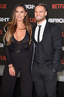"""Jessica Shears and Jonny Mitchell<br /> arriving for the """"Bright"""" European premiere at the BFI South Bank, London<br /> <br /> <br /> ©Ash Knotek  D3364  15/12/2017"""