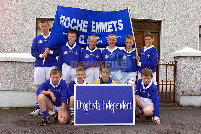 Roche Emmets GFC who took part in the Drogheda independent GAA Blitz..Picture Fran Caffrey Newsfile.