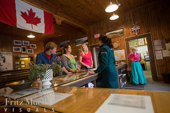 Visitor Information Centre in Dawson City, Yukon