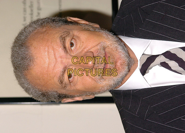 SIR ALAN SUGAR.Signs copies of his new book at Waterstones, London, Thursday 3rd March 2005..portrait headshot.Ref: CAN.www.capitalpictures.com.sales@capitalpictures.com.©Capital Pictures.