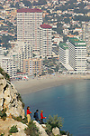 Calpe,Peñon de Ifach (Penyal d'ifach),Alicante,Spain,Europe,  Trekking at Peñon de Ifach. 2006 MR/Yes