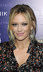 Hilary Duff arriving at Rodeo Drive Walk of Style as Manolo Blahnik is honored Rodeo Drive Beverly Hills, Ca. September 25, 2008. Fitzroy Barrett