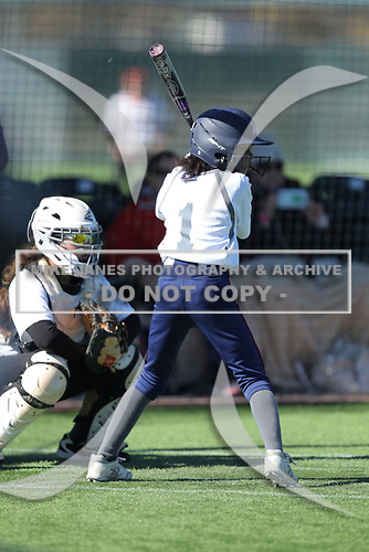 Softball Factory All-America Pre-Season Tournament, powered by Under Armour, on January 14, 2018 at ScrapYard Sports Complex in Conroe, Texas. (Erik Williams/Four Seam Images)