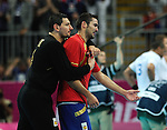 Olympic Games 2012; Handball - Quarterfinal: .ESP - FRA.