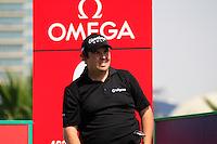 Shane Lowry (IRL) tees off on the 9th tee during Saturday's  Round 3 of the 2012 Omega Dubai Desert Classic at Emirates Golf Club Majlis Course, Dubai, United Arab Emirates, 11th February 2012(Photo Eoin Clarke/www.golffile.ie)