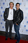 UNIVERSAL CITY, CA. - September 14: Musicians Derek Hough and Mark Ballas of Almost Amy  arrive at The City of Hope Benefit Concert at Gibson Amphitheater on September 14, 2008 in Universal City, California.