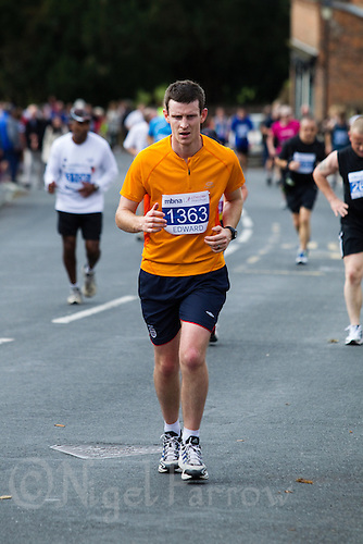 09 SEP 2011 - CHESTER, GBR - Edward Hamilton - MBNA Chester Marathon (PHOTO (C) NIGEL FARROW)