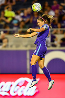 Orlando, FL - Saturday September 10, 2016: Alex Morgan during a regular season National Women's Soccer League (NWSL) match between the Orlando Pride and Sky Blue FC at Camping World Stadium.