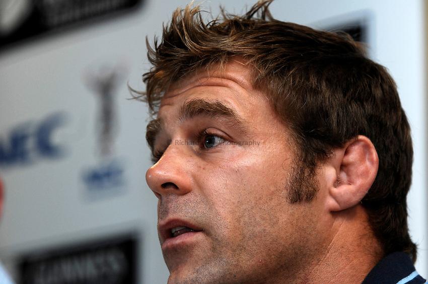 Photo: Richard Lane..NEC Harlequins Media Day. 21/08/2006. .New Harlequins captain, Paul Volley.