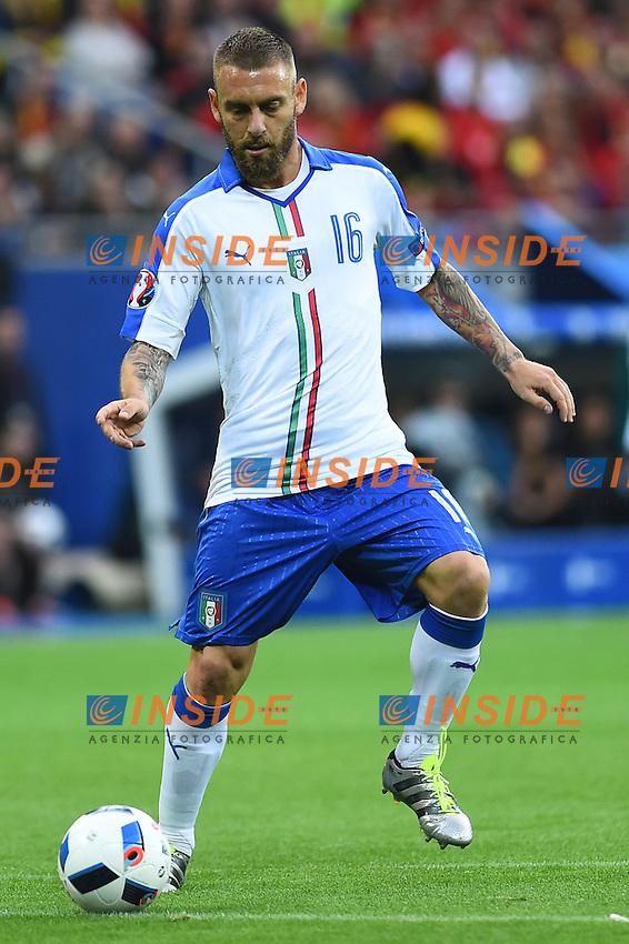 Daniele De Rossi Italy <br /> Lyon 13-06-2016 Grand Stade de Lyon Football Euro2016 Belgium-Italy / Belgio-Italia Group Stage Group E. Foto Massimo Insabato / Insidefoto