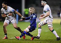 6th March 2020; AJ Bell Stadium, Salford, Lancashire, England; Gallagher Premiership Rugby, Sale Sharks versus London Irish;  Faf de Klerk of Sale Sharks back in the thick of it after an injury lay off