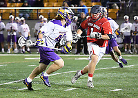 No. 5 ranked Albany defeats Stony Brook 19-6 in the semifinals of the America East Tournament on May 04, 2017 at Casey Stadium in Albany, New York.  (Bob Mayberger/Eclipse Sportswire)