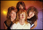 Aug 18, 1988: MEGADETH - Photosession in London