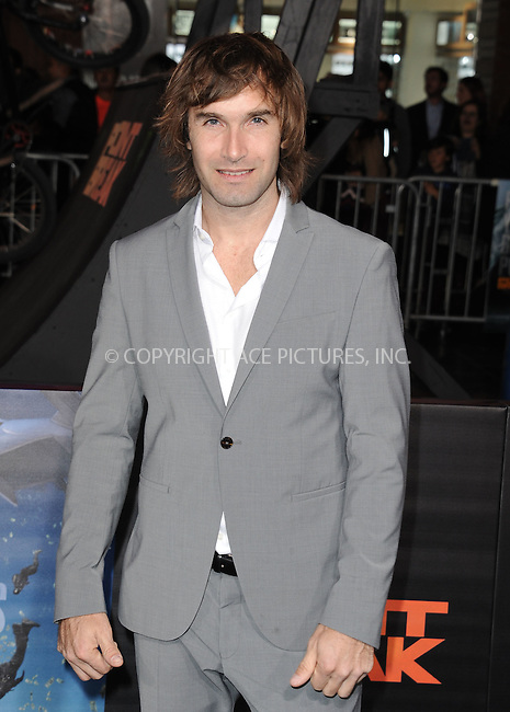 WWW.ACEPIXS.COM<br /> <br /> December 15 2015, LA<br /> <br /> Chris Sharma arriving at the premiere of 'Point Break' at the TCL Chinese Theatre on December 15, 2015 in Hollywood, California.<br /> <br /> By Line: Peter West/ACE Pictures<br /> <br /> <br /> ACE Pictures, Inc.<br /> tel: 646 769 0430<br /> Email: info@acepixs.com<br /> www.acepixs.com