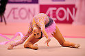 Lyubov Cherkashina (BLR), ..OCTOBER 28, 2011 - Rhythmic Gymnastics : AEON CUP 2011 Worldwide R.G. Club Championships at Tokyo Metropolitan Gymnasium, Tokyo, Japan. (Photo by Jun Tsukida/AFLO SPORT) [0003]
