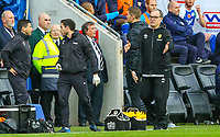 Leeds United manager Marcelo Bielsa watches on during the second half<br /> <br /> Photographer Alex Dodd/CameraSport<br /> <br /> The EFL Sky Bet Championship - Wigan Athletic v Leeds United - Sunday 4th November 2018 - DW Stadium - Wigan<br /> <br /> World Copyright &copy; 2018 CameraSport. All rights reserved. 43 Linden Ave. Countesthorpe. Leicester. England. LE8 5PG - Tel: +44 (0) 116 277 4147 - admin@camerasport.com - www.camerasport.com