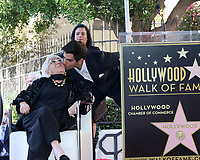 LOS ANGELES - OCT 28:  Lina Wertmuller, Eli Roth at the Lina Wertmuller Star Ceremony on the Hollywood Walk of Fame on October 28, 2019 in Los Angeles, CA