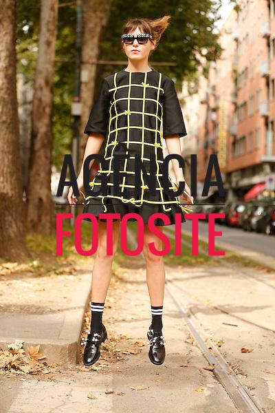 Street Style- Mil&atilde;o- Ver&atilde;o 2016<br /> set/2015<br /> foto: Leo Faria/ Ag&ecirc;ncia Fotosite