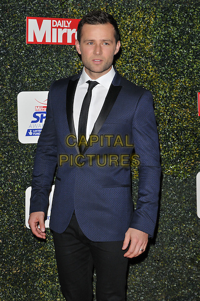 Harry Judd attends the Daily Mirror Pride of Sport Awards 2015, Grosvenor House Hotel, Park Lane, London, England, UK, on Wednesday 25 November 2015. <br /> CAP/CAN<br /> &copy;Can Nguyen/Capital Pictures