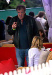 jeremy clarkson at the big feastival  held at Alex James' farm near Kingham, Oxfordshire 01/09/2012