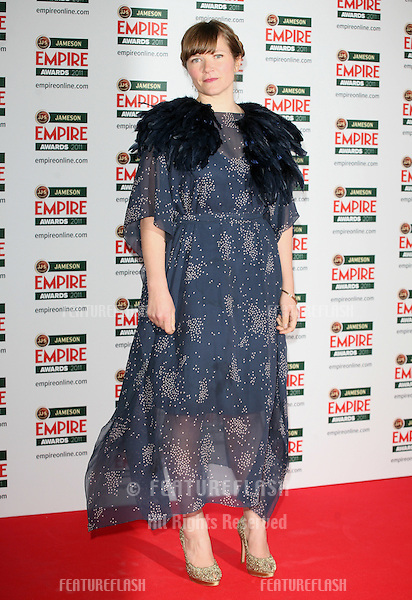 Jessica Hynes arriving for the Jameson Empire Awards 2011, Grosvenor House Hotel, London. 27/03/2011  Picture by: Alexandra Glen / Featureflash