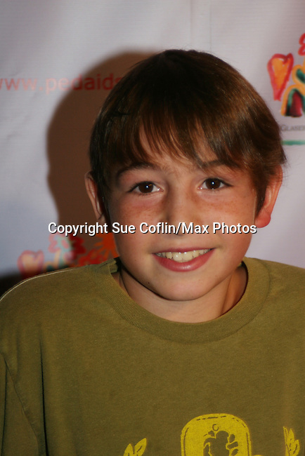 Jonah Bobo at the Kids for Kids Celebrity Carnival to benefit the Elizabeth Glaser Pediatric Aids Foundation on September 20, 2008 at the Park Avenue Armory, New York City, New York. (Photo by Sue Coflin/Max Photos)