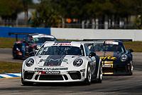 2017 Porsche GT3 Cup USA<br /> Sebring International Raceway, Sebring, FL USA<br /> Friday 17 March 2017<br /> 24, Jake Eidson, GT3P, USA, 2017 Porsche 991<br /> World Copyright: Jake Galstad/LAT Images<br /> ref: Digital Image lat-galstad-SIR-0317-14854