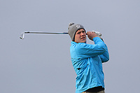 John McCarthy (Grange) on the 4th tee during Round 3 of The West of Ireland Open Championship in Co. Sligo Golf Club, Rosses Point, Sligo on Saturday 6th April 2019.<br /> Picture:  Thos Caffrey / www.golffile.ie