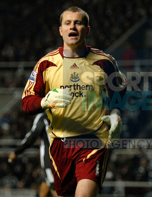 Newcastle's Shay Given.