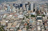 Downtown Denver aerial.  Aug 2013. 81446