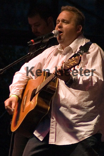 Danny Everhart at the Chicago Country Music Fest at Soldier Field