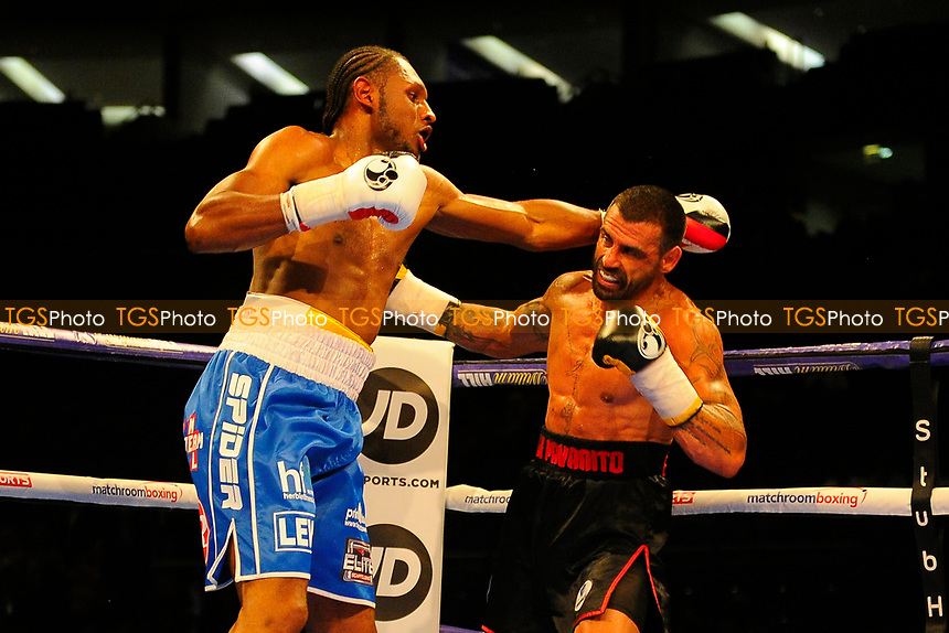 Craig Richards defeats Rui Manuel Pavanito during a Boxing Show at the O2 Arena on 1st July 2017