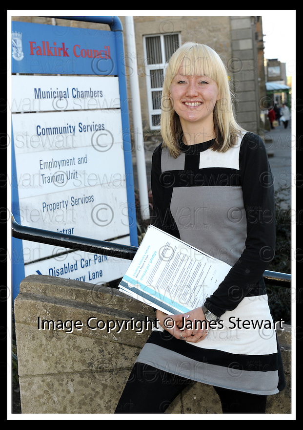 29/01/2010  Copyright  Pic : James Stewart.09_fiona_henderson  .::  FIONA HENDERSON, PROGRAM ASSISTANT, FALKIRK COUNCIL EMPLOYMENT & TRAINING UNIT :: .James Stewart Photography 19 Carronlea Drive, Falkirk. FK2 8DN      Vat Reg No. 607 6932 25.Telephone      : +44 (0)1324 570291 .Mobile              : +44 (0)7721 416997.E-mail  :  jim@jspa.co.uk.If you require further information then contact Jim Stewart on any of the numbers above.........