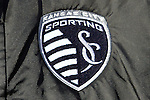 19 November 2010: Kyle Rogers, of the Communications Department of Sporting Kansas City, sports the team's new crest.   ..FC Dallas held a practice at Toronto, Ontario, Canada as part of their preparations for MLS Cup 2010, Major League Soccer's championship game.