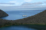 Le santa Cruz devant  Isla Isabella Tagus Cove