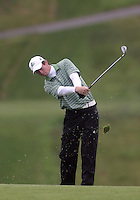 22 May, 2010:   Loyola Colleges Patrick McCormick chips his shot to the green on hole ten during day three of the first round of the NCAA West Regionals at Gold Mountain Golf course in Bremerton, WA.