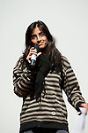 Deepa Gupta addresses Conference of Youth, COP 15, Denmark (©Robert vanWaarden