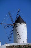 Europe/Espagne/Baléares/Minorque/Es Mercadal : Le moulin à vent