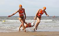 Nederland  Noordwijk 2016. Van 1 tot en met 18 september worden in Eindhoven en Noordwijk de Wereldkampioenschappen Lifesaving georganiseerd. Er staan zeven verschillende toernooien op het programma voor landenteams, clubteams en masters. Drie Nederlandse deelneemsters.  Foto Berlinda van Dam / Hollandse Hoogte