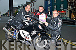 John, Micheal and JJ Buckley Ballydesmond launching the Féileacain  motorbike run which will be held on the 24th May