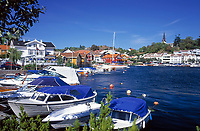 Norwegen, Aust Agder, Grimstad an der Sonnenkueste Suednorwegens | Norway, Aust Agder, Grimstad at South Norways Sunshine Coast
