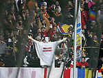 10.02.2018, Wirsol Rhein-Neckar-Arena, Sinsheim, GER, 1.FBL, TSG 1899 Hoffenheim vs FSV Mainz 05, im Bild<br />Das Abstiegsgespenst im Mainzer Fanblock<br /> Foto &copy; nordphoto / Bratic