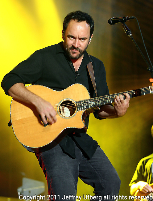 "Aug. 26, 2011: Singer / Musician Dave Matthews performs ""Dave Matthews Caravan"" on Governors Island on August 26, 2011 in New York."
