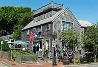 Charming shop exterior, Nantucket, Massachusetts, USA.