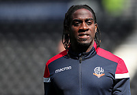 Bolton Wanderers' Clayton Donaldson pictured before the match <br /> <br /> Photographer Andrew Kearns/CameraSport<br /> <br /> The EFL Sky Bet Championship - Derby County v Bolton Wanderers - Saturday 13th April 2019 - Pride Park - Derby<br /> <br /> World Copyright &copy; 2019 CameraSport. All rights reserved. 43 Linden Ave. Countesthorpe. Leicester. England. LE8 5PG - Tel: +44 (0) 116 277 4147 - admin@camerasport.com - www.camerasport.com